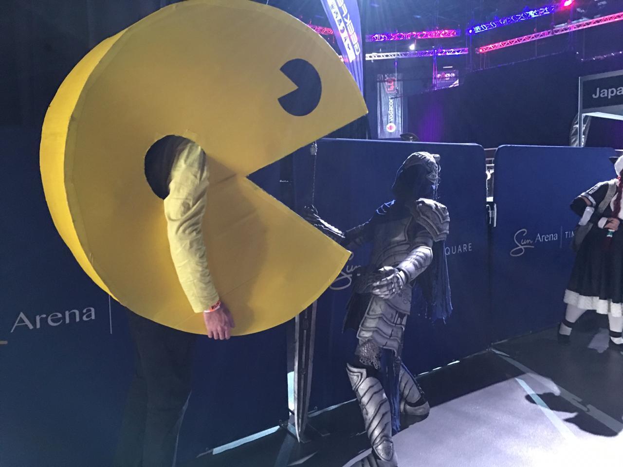 GeekFest Through the Eyes of Pac-Man